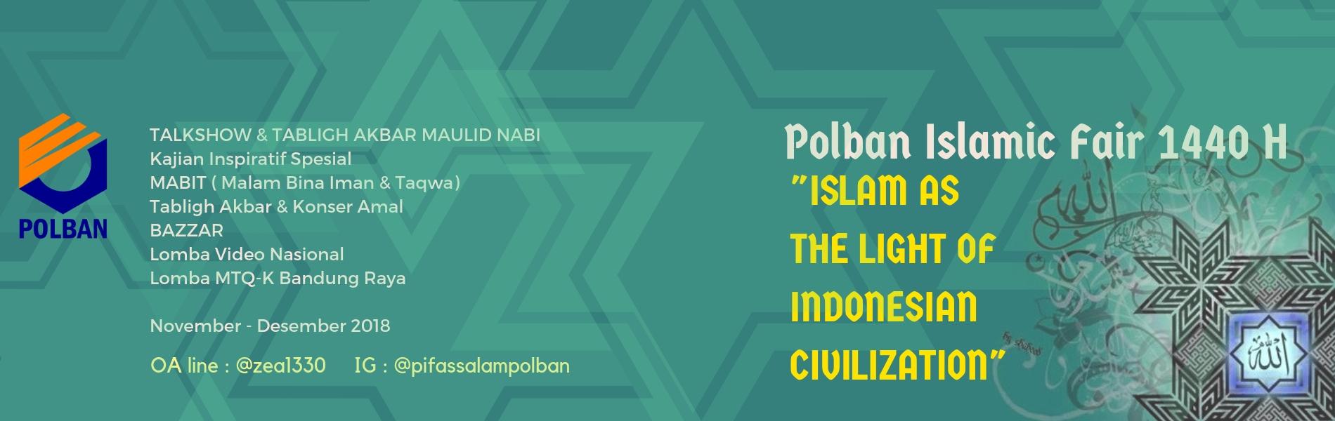 POLBAN ISLAMIC FAIR