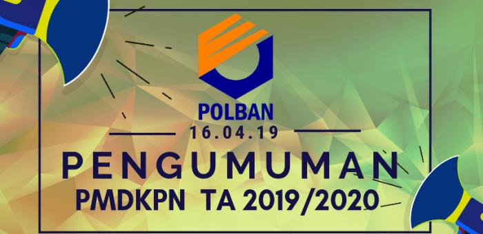 PENGUMUMAN PMDKPN-POLBAN TA 2019/2020