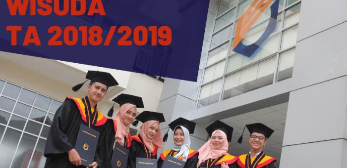 Jadwal Wisuda Tahun Akademik 2018/2019