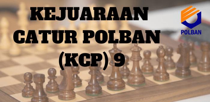 Kejuaraan Catur POLBAN 9