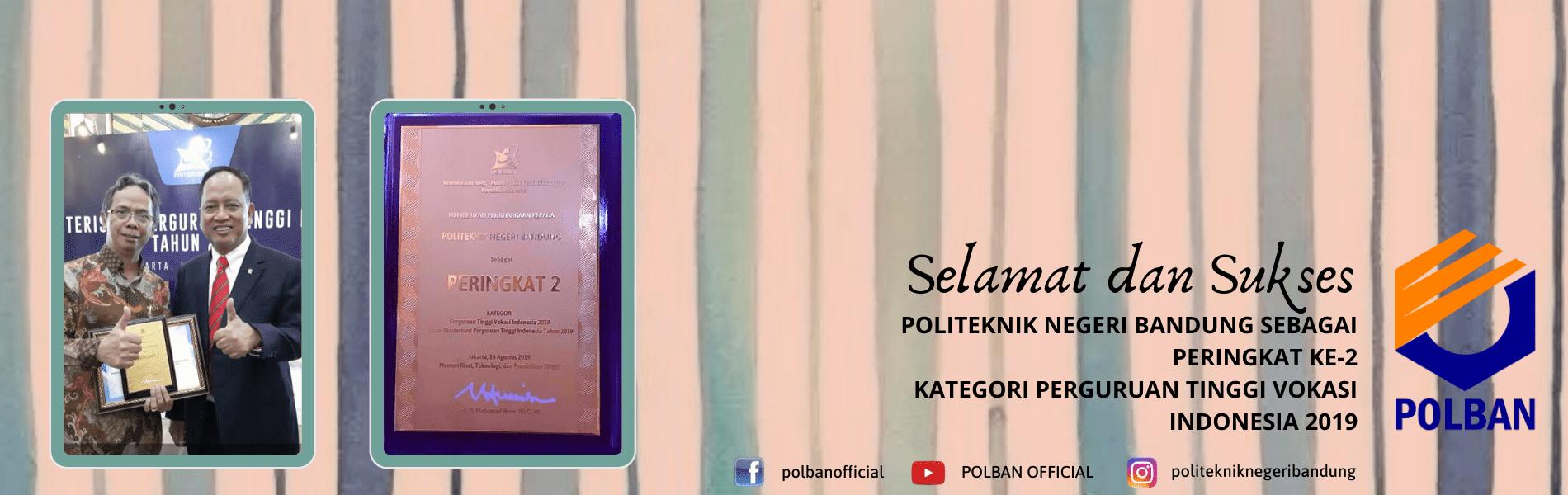 #KlasterisasiPT2019 #polban