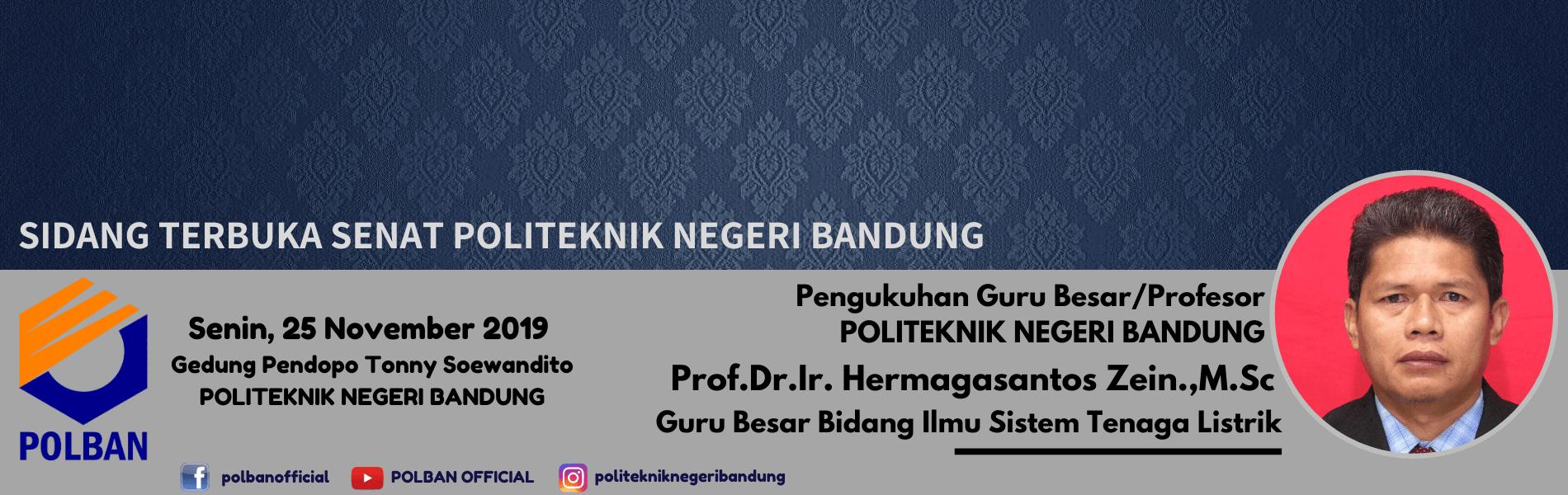 #pengukuhangurubesar/profesor #profesorke-2polban