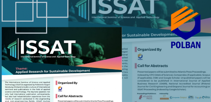 Call for Abstracts : International Seminar of Science and Applied Technology (ISSAT)