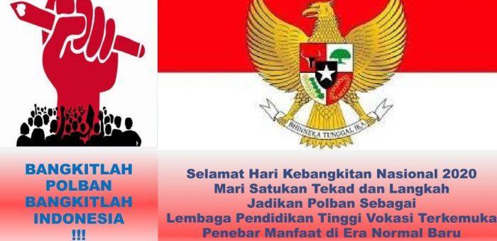 Sambutan Direktur Polban Pada Peringatan Hari Kebangkitan Nasional Ke-112 Tanggal 20 Mei 2020