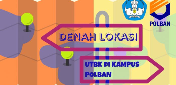 Denah Lokasi UTBK 2020 di Kampus Polban