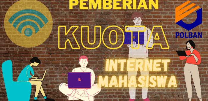 Surat Edaran: Pemberian Kuota Internet kepada Mahasiswa Politeknik  Negeri Bandung