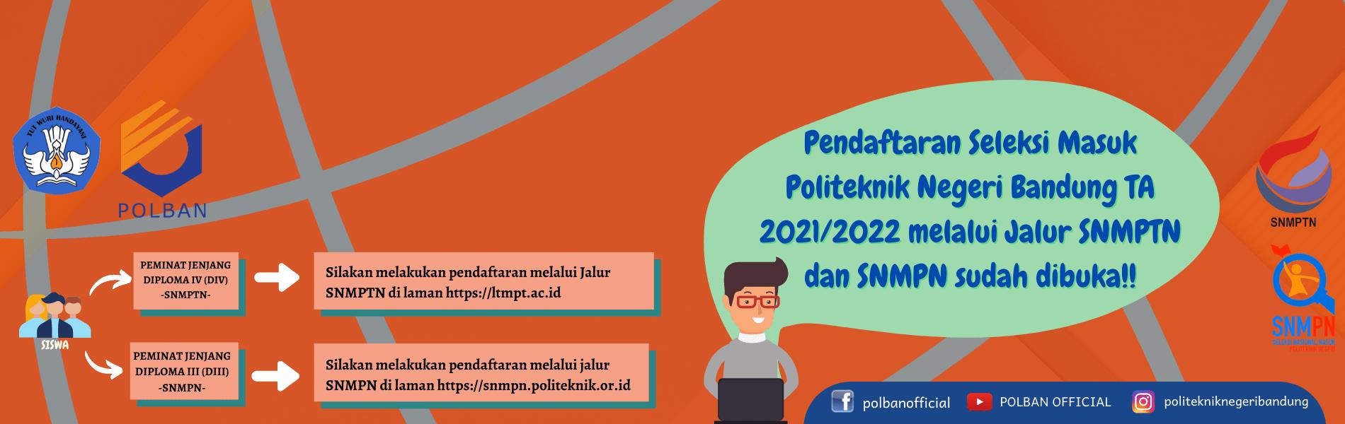 #SNMPTN #SNMPN #POLBAN