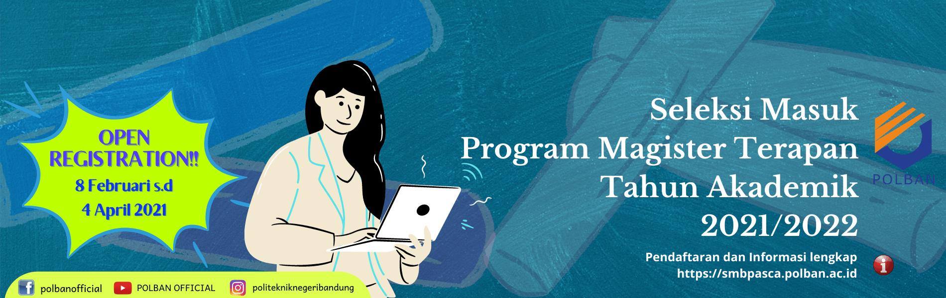 #SMBPasca2021 #ProgramMagisterTerapanPolban