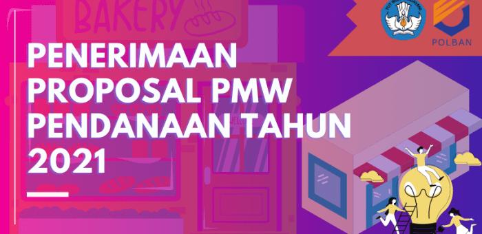 Pengumuman :: Penerimaan Proposal PMW Pendanaan 2021