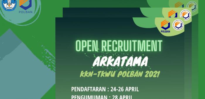 Open Recruitment : KKN TKWU 2021