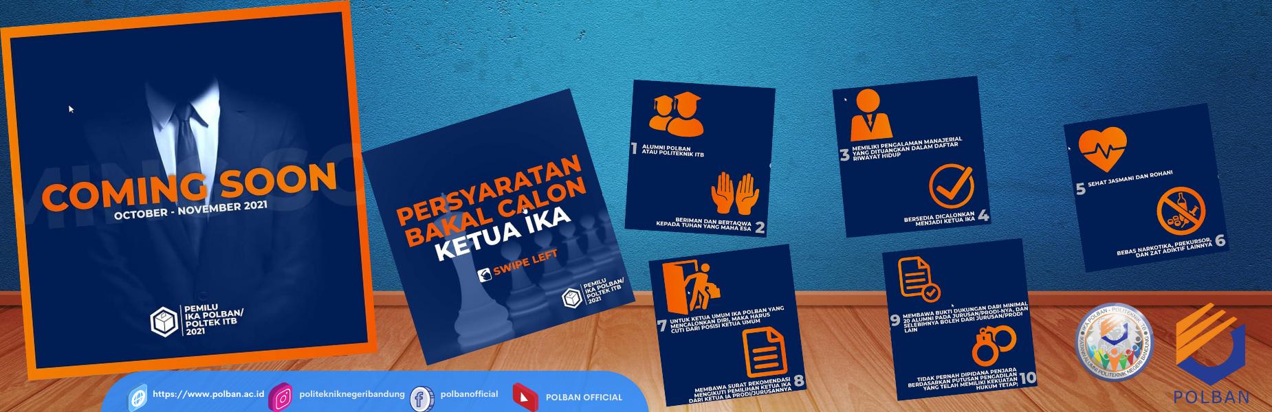#Pemilu_IKA_POLBAN_POLTEKITB